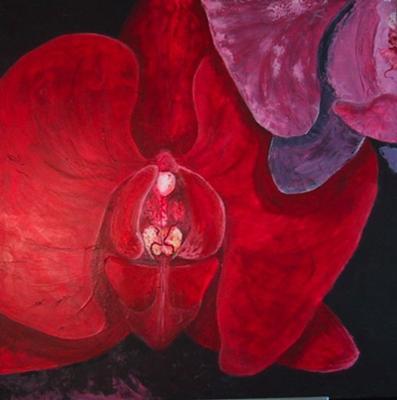 'Hermaphrodite' 3' x 3' acrylic